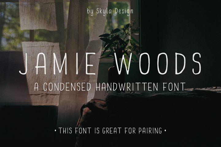 Skinny, Condensed font - Jamie Woods