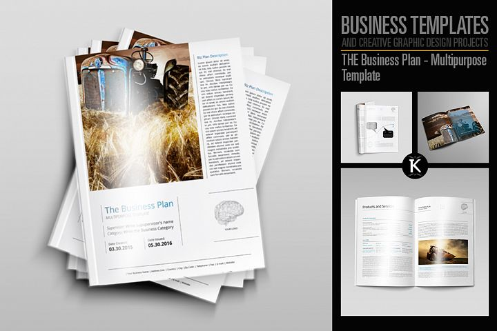 THE Business Plan - Multipurpose Template PRO