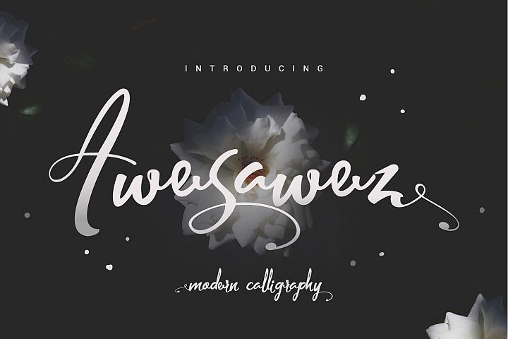 Awesawez - Free Font of The Week