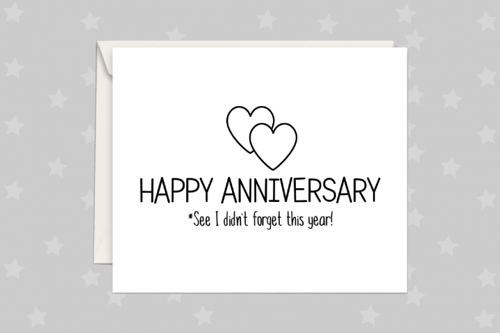Anniversary Card, Greeting Card Printable