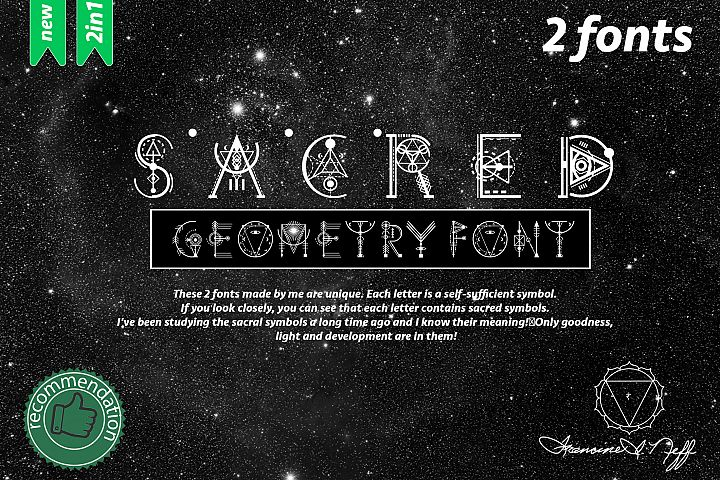 Sacreds fonts Bundle