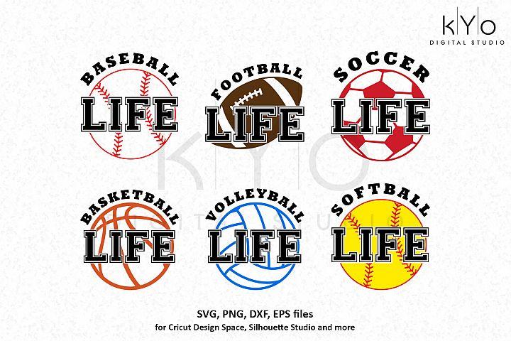 Baseball Basketball Football Soccer Softball life files