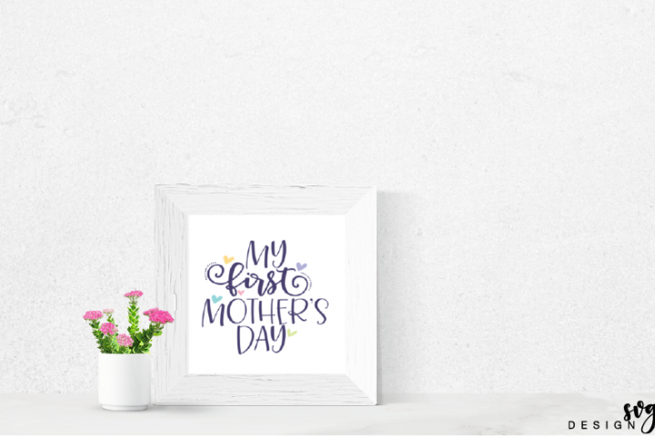 Mothers Day SVG, Mom SVG, Mama Bear, SVG files for Cricut, SVG for Silhouette, Commercial Use