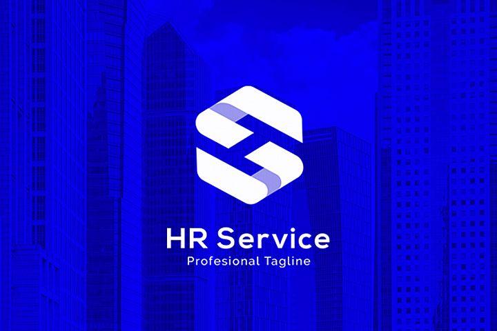 HR Service - H S Letter Logo