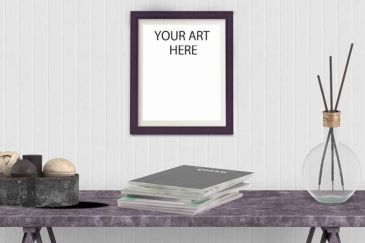 Frame Mockup for Art Listings