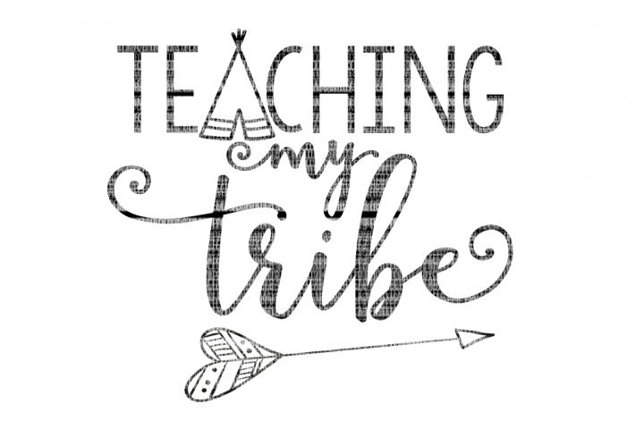 Teaching My Tribe School SVG example 1