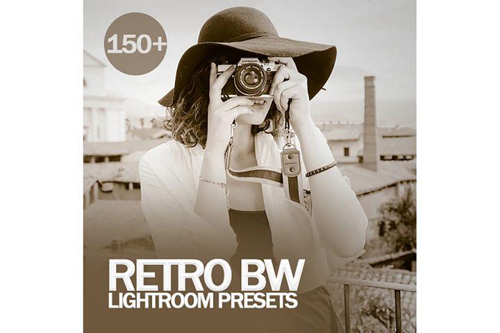 Retro BW Lightroom Presets