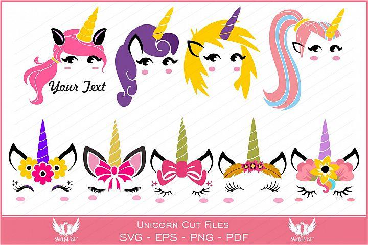 Unicorn svg, unicorn face svg, licorne, unicorn face clipart, Unicorn silhouette , Unicorn cricut, unicorn horn, cara de unicornio, eps png