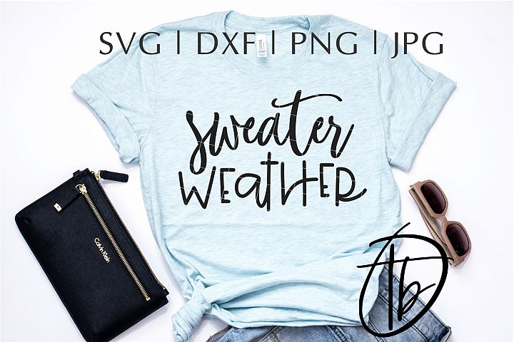Sweater Weather SVG