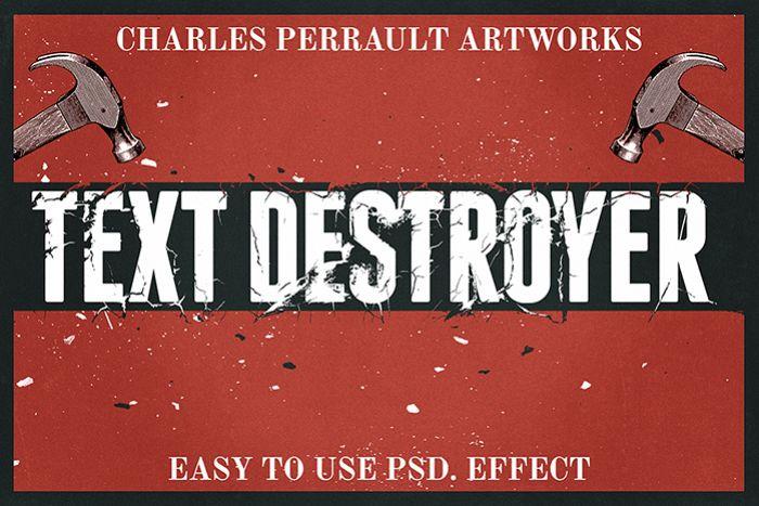 Text Destroyer Vol. 01