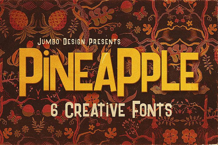 Pineapple - Funny Style Font