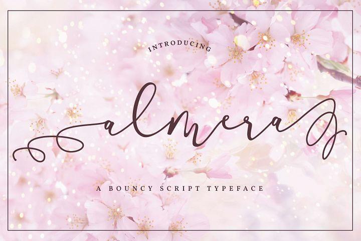 Almera Typeface