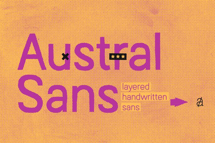 Austral Sans *Complete Family