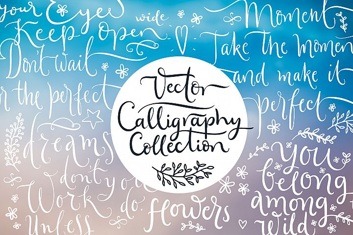 Vector Calligraphy Collection