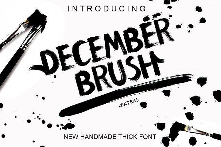 December Brush And Extras