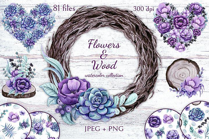 Flowers & Wood