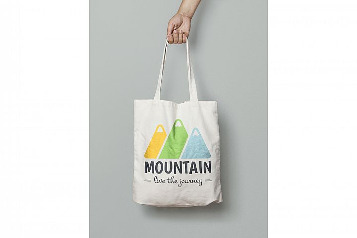 Mountain Logo Template example 3