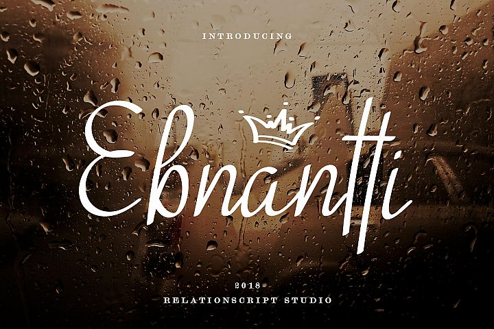Ebnantti Script Font