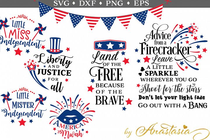 The 4th of July SVG Pack - Limited Promotion
