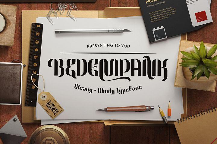 Bedempank Typeface