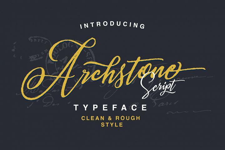 Archstone Typeface