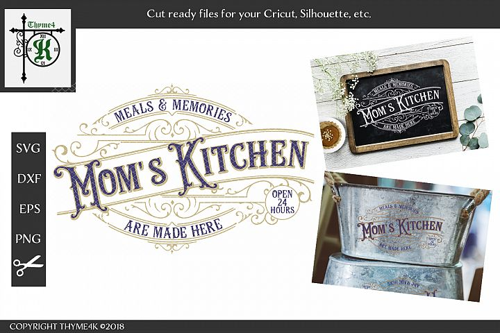 Moms Kitchen Digital Design