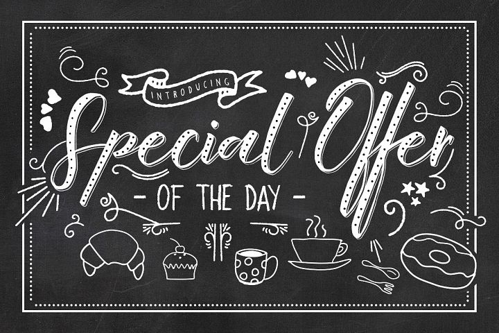 King Size Font - Free Font of The Week Design 6