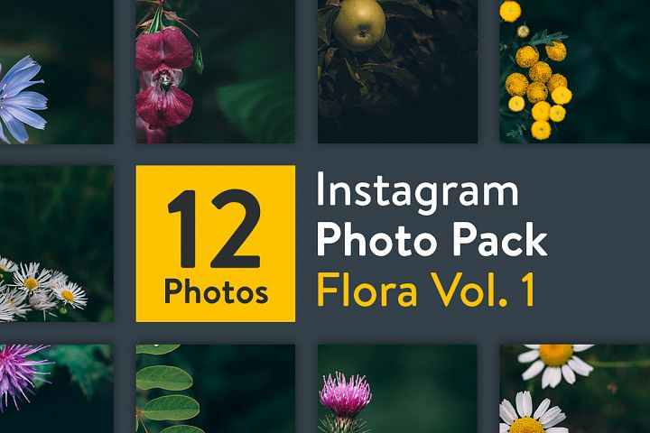 Instagram Photo Pack - Flora Vol. 1