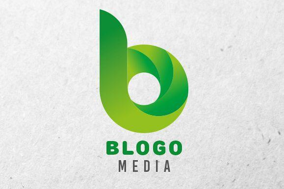 Blogo Logo Design Template 4 Colors