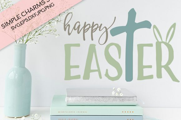 Happy Easter cut file
