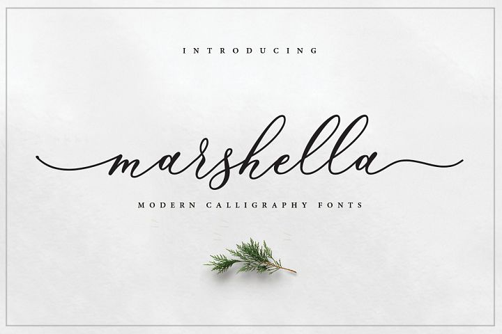Marshella Script