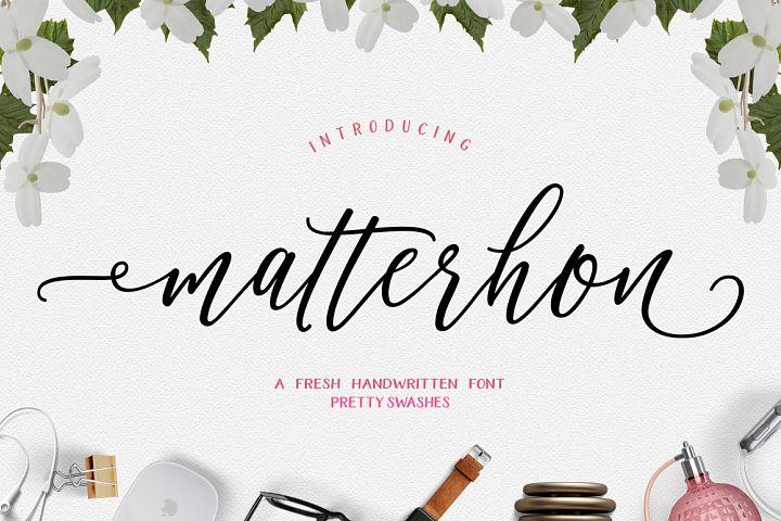Matterhon Script