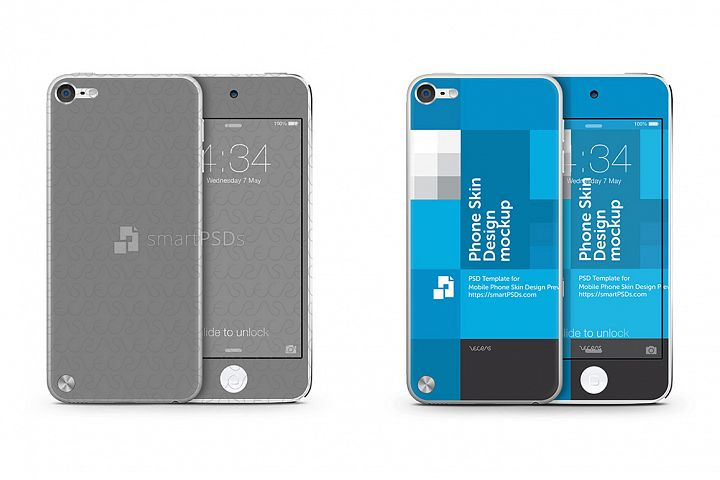 Apple iPod Touch 5 Skin Design Template