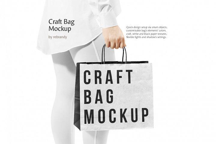 Craft Bag Mockup