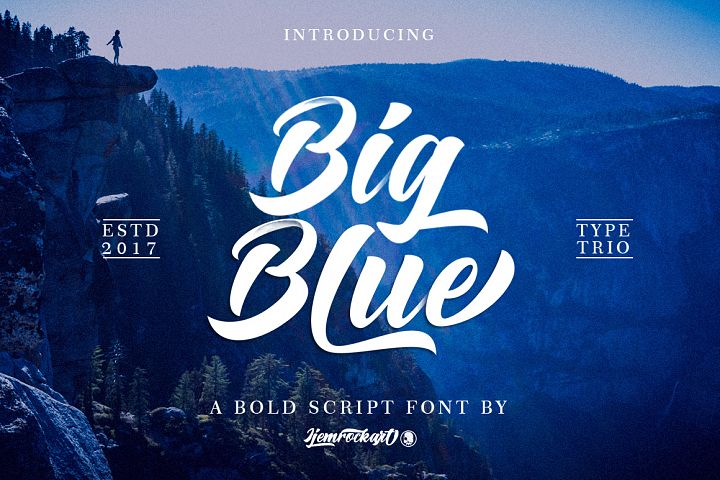 Big Blue Type Trio