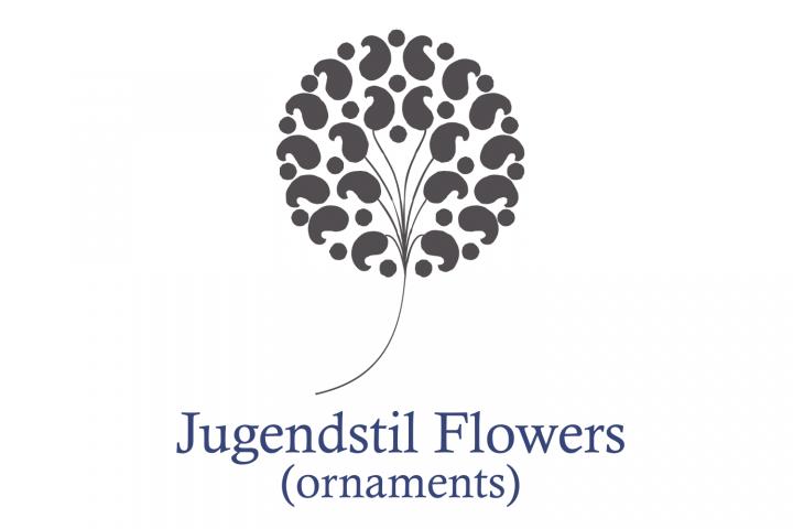 Jugendstil Flowers (family pack)