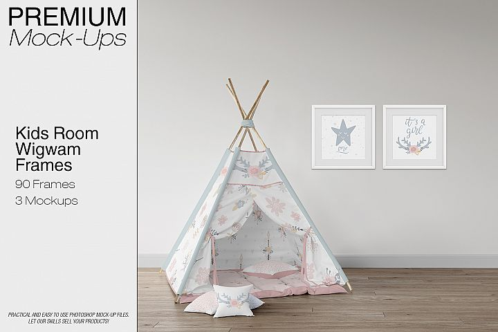 Kids Room - Wigwam Wall & Frames