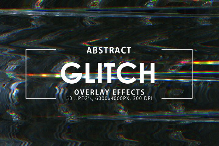 Glitch Overlay Effects