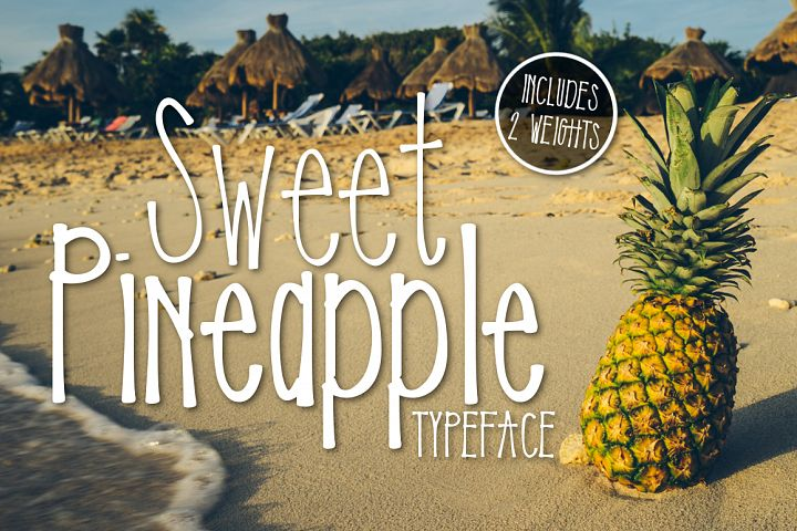 Sweet Pineapple Typeface