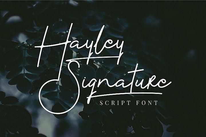 Hayley Signature
