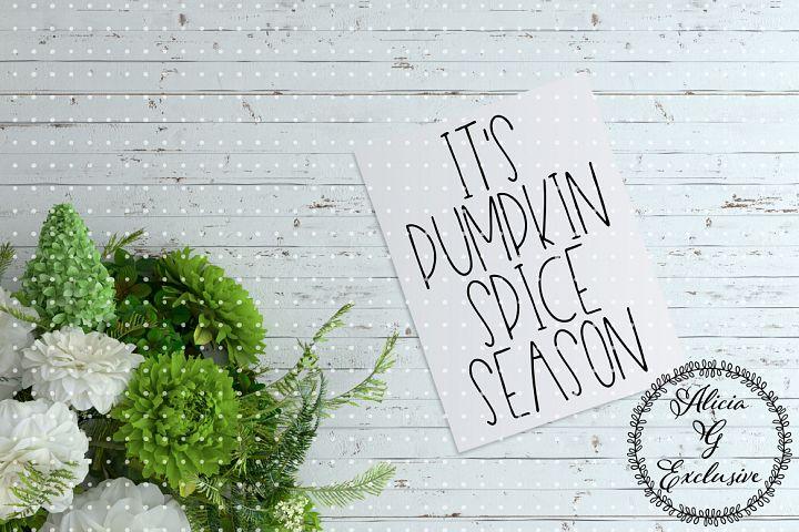 Pumpkin Spice Season 2