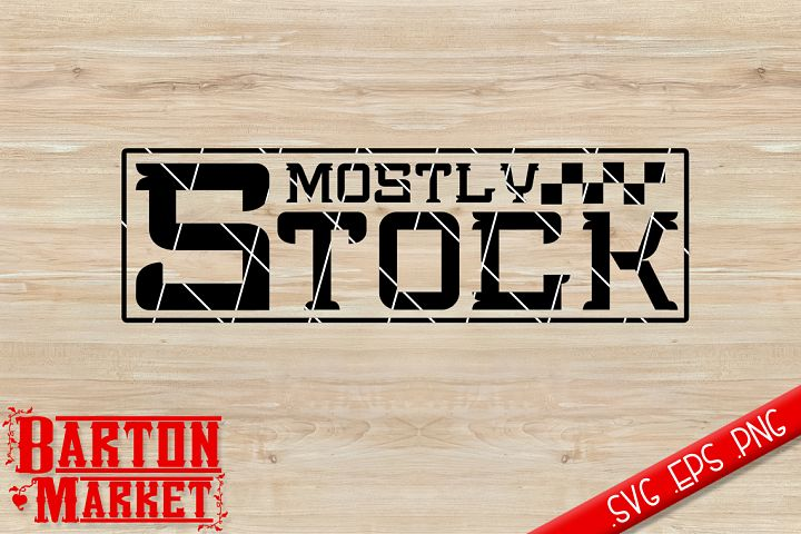 Mostly Stock SVG / EPS / PNG