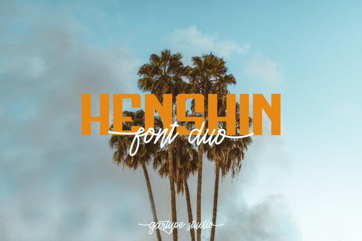 Henshin Font Duo