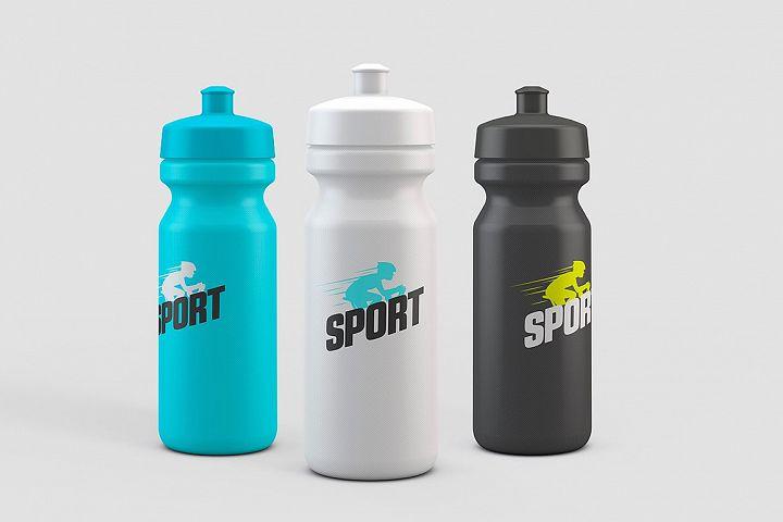 Sport Water Bottle Mock-Up