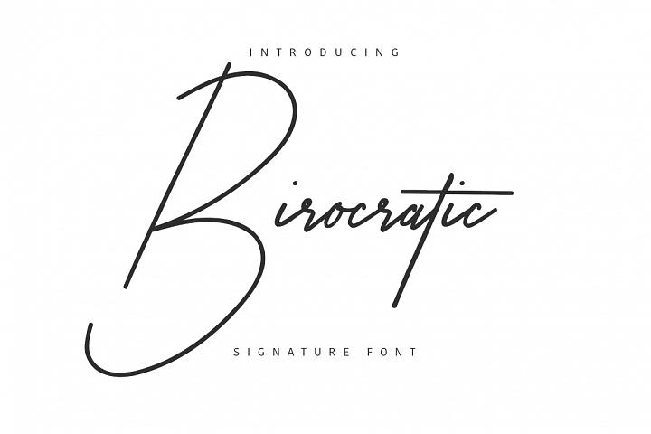Birocratic Typeface