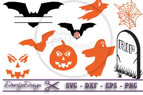 Halloween Set SVG