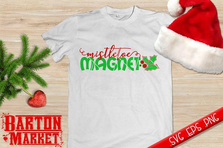 Mistletoe Magnet (v1) SVG / EPS / PNG
