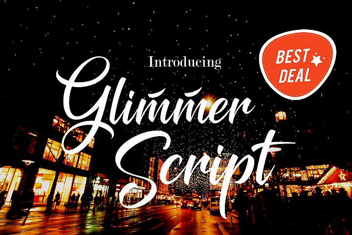 Glimmer Script - Free Font of The Week