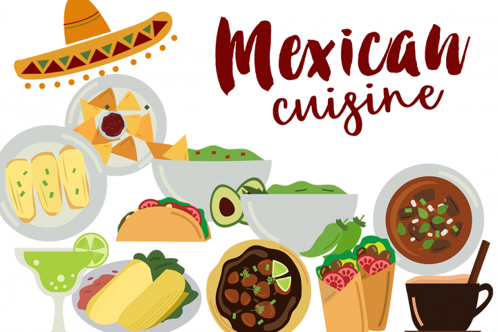Mexican Food Clipart - Free Design of The Week