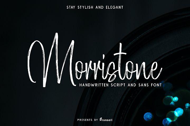 Morristone Script & Sans